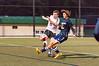 11/1/2016 - Magruder midfielder Zack Evans (12) & Wheaton's Evan Bearman (15), ©2016 Jacqui South Photography