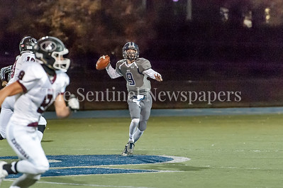 11/4/2016 - Georgetown Prep quarterback T. Ridgeway (9), ©2016 Jacqui South Photography