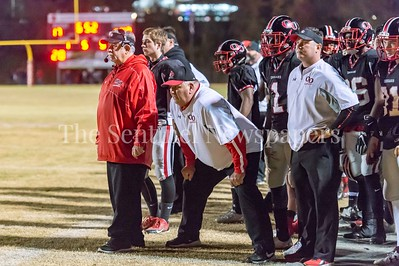 11/19/2016 -Quince Orchard coaches: Bob Glass (left), Chuck Oswald (right) ©2016 Jacqui South Photography