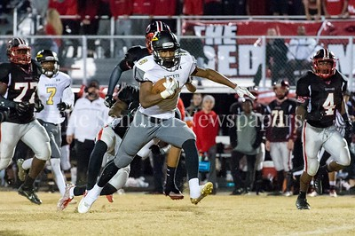 11/19/2016 - Richard Montgomery running back Tylen Hebron (9), ©2016 Jacqui South Photography