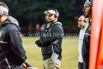 11/19/2016 - Richard Montgomery head coach Josh Klotz, ©2016 Jacqui South Photography
