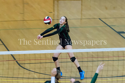 11/20/2016 - Sarah Noland (3) sets it up during the 3A Championship Volleyball game between Atholton and Damascus, ©2016 Jacqui South Photography