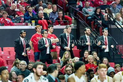 12/10/2016 - The Turgeonites, students who dress as Coach Mark Turgeon in the St. Peter's v University of Maryland Basketball game, ©2016 Jacqui South Photography