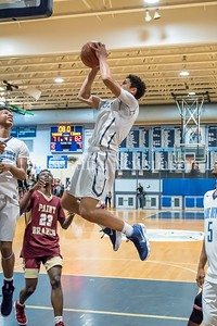 1/5/2018 - Springbrook guard Matthew Balanc (1) shoots a layup,  ©2018 Jacqui South Photography