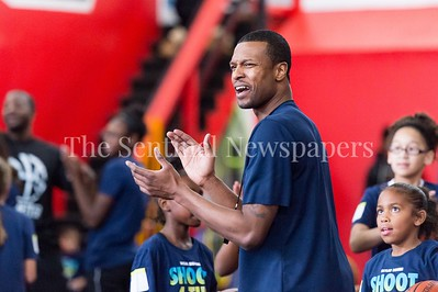 1/7/2017 - Pat Robinson during the Skylar Diggins Camp at the Pat the Roc Academy in Rockville, MD, ©2017 Jacqui South Photography