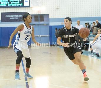 Clarksburg High School Destini Chesley (20), Northwest High School Alexis Mack (1)