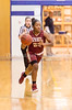 1/19/2017 - Paint Branch guard Faith Stewart (23) brings the ball upcourt for the Panthers, ©2017 Jacqui South Photography