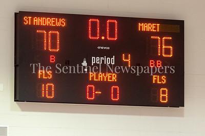 1/31/2017 - Final score Maret defeats St. Andrews 76-70, ©2017 Jacqui South Photography