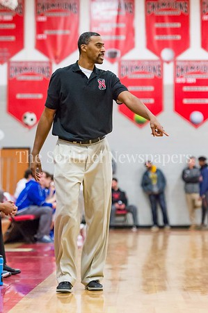 2/3/2017 -Northwood head coach Phil Chenier, ©2017 Jacqui South Photography