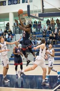 NNAMENE,CHIDOZIE(COLLIN)'18, Georgetown Prepatory School Curtis Mitchell (21), Georgetown Prepatory School John Ghazal (4), 02 10 2017 Georgetown Preperatory School v St Albans School boys Varsity Basketball