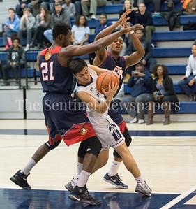 NNAMENE,CHIDOZIE(COLLIN)'18, Georgetown Prepatory School Anthony Scafide (2), 02 10 2017 Georgetown Preperatory School v St Albans School boys Varsity Basketball