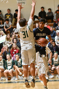 Carlos Martinez gets blocked by Damascus's Sean Rogers.