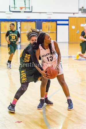 2/14/2017 - Seneca Valley v Magruder Girls Basketball, ©2017 Jacqui South Photography