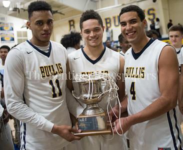 ChyreeWalker, RaffyBaumgardner, ThomasBaltimore, 02 18 2017 IAC Championship Basketball Game. Georgetown Prep, v Bullis