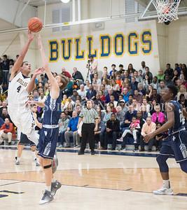 ThomasBaltimore, Georgetown Prepartory School Curtis Mitchell (21), 02 18 2017 IAC Championship Basketball Game. Georgetown Prep, v Bullis