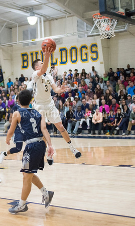 LincolnYeutter, Georgetown Prepartory School Anthony Scafide (2), 02 18 2017 IAC Championship Basketball Game. Georgetown Prep, v Bullis