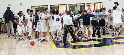 02 18 2017 IAC Championship Basketball Game. Georgetown Prep, v Bullis