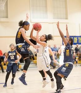 Rayniah Walker, Rayniah Walker, Jada Welbon, 02 21 2017 Bullis v Holy Child Girls Basketball