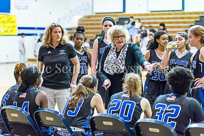 2/24/2017 - Blake Girls Basketball Head Coach Patti Gilmore, ©2017 Jacqui South Photography