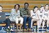 2/24/2017 - Magruder Girls Basketball Head Coach Ka'Shauna Cook (left) and Assistant Coach Tariq Uqdah (right), ©2017 Jacqui South Photography