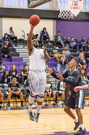 2/25/2017 - Montgomery College forward Isaac Akwara (35), ©2017 Jacqui South Photography