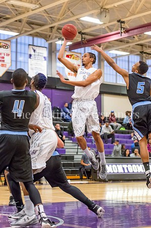 2/25/2017 - Montgomery College guard Ramel Davidson (14), ©2017 Jacqui South Photography