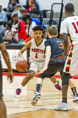 2/25/2017 - Wheaton guard Thomas Getahun (4), ©2017 Jacqui South Photography