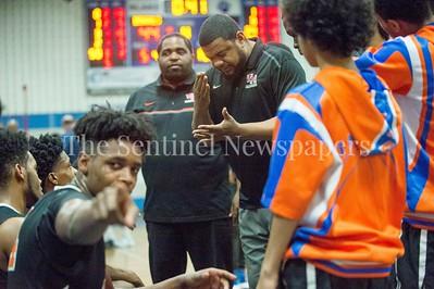 Watkins Mill High School forward Terrance Williams jr. (24), 02 28 2017 Watkins Mill v Blake High Schools Boys Varsity Basketball