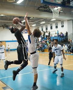 Watkins Mill High School Anthony Bailey (3), 02 28 2017 Watkins Mill v Blake High Schools Boys Varsity Basketball
