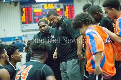 Watkins Mill High School head coach Jay Tringone, 02 28 2017 Watkins Mill v Blake High Schools Boys Varsity Basketball