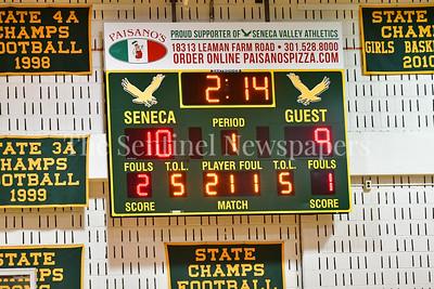 Seneca Valley vs.  Tuscorora Boys Varity Basketball 20170304
