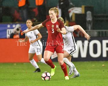 US Women's National Soccer Team vs. France's National Women's Soccer Team