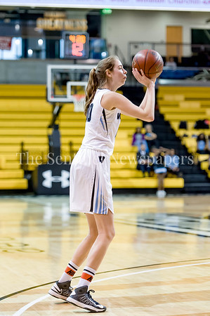 3/9/2017 - Whitman forward Olivia Meyers (00) shoots in the  Maryland 4A Girls Semi-Final - Roosevelt v Whitman, ©2017 Jacqui South Photography