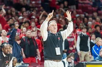 3/9/2017 - Quince Orchard Head Coach Paul Foringer during the Maryland 4A Boys Semi-Final - Quince Orchard v Wise, ©2017 Jacqui South Photography