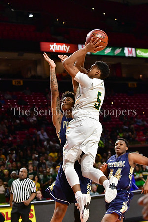 03 2017 - Tyran Crawford   scores two points for Seneca Valley. MPSSAA 3A Semi-finals.  Photo Credit:  David Wolfe