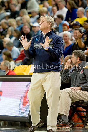 3/11/2017 - Catonsville Head Coach Mike Mohler in the Maryland Girls 4A Championship - Catonsville v Whitman, ©2017 Jacqui South Photography