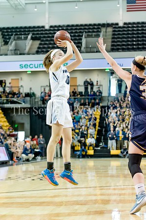 3/11/2017 - Abby Meyers (10) shoots a jump shot in the Maryland Girls 4A Championship - Catonsville v Whitman, ©2017 Jacqui South Photography