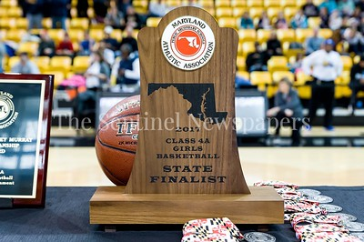 3/10/2016 - Whitman Vikings, State Finalist trophy, Maryland Girls 4A Championship - Catonsville v Whitman, ©2017 Jacqui South Photography