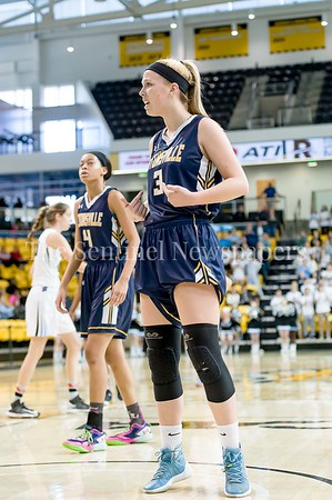 3/11/2017 - Jen Gast (3) in disbelief after a foul was called on her in the Maryland Girls 4A Championship - Catonsville v Whitman, ©2017 Jacqui South Photography