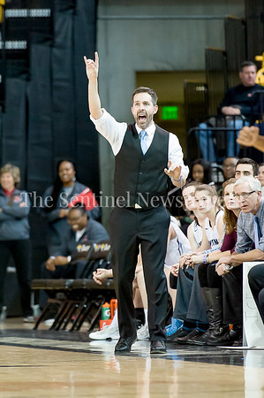 3/11/2017 - Whitman Head Coach Peter Kenah in the Maryland Girls 4A Championship - Catonsville v Whitman, ©2017 Jacqui South Photography