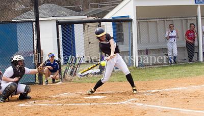 NWHS's Alexa Bowen (16) at bat against Sherwood. 03 25 2017 Northwest High School v Sherwood High School Varsity Softball. NWHS Beat SHS 9-5. First Loss for SHS in 105 games