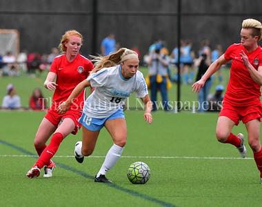 Preseason match Washington Spirit vs. University of North Carolina