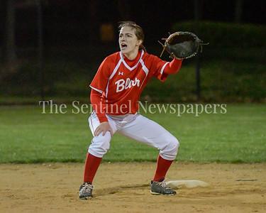 Blair vs Rockville.  Girls softball.