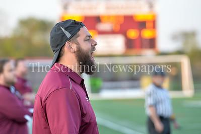 4/18/2017 - Paint Branch Boys Lacrosse head coach Greg Jolles, ©2017 Jacqui South Photography