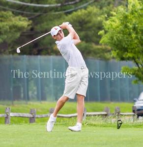 Evan Katz from Landon, and 107 All American Golf Team. 05 01 2017 Landon v Bullis Golf