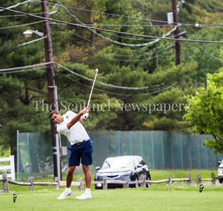 Thomas Baltimore from Bullis. 05 01 2017 Landon v Bullis Golf