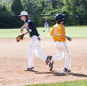 Michael Depman (18),  Harry Kaplan (15), 05 02 2017 Georgetown Preparatory School v Bullis School Varsity Baseball