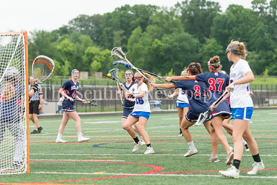 5/20/2017 - Sherwood attack Katie Cunius (16) scores in the Bel Air  v Sherwood Girls 3A/4A Regional Championship Lacrosse Game, ©2017 Jacqui South Photography