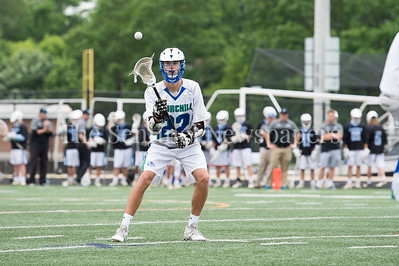 5/20/2017 -  Churchill middie Ethan Gibson (22) in the 4A/3A Regional Championship lacrosse game at Gaithersburg High School, ©2017 Jacqui South Photography