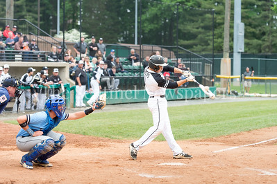 5/23/2017 - Northwest shortstop Nick Phelps (8) at bat in the 4A Regional Championship game at Shirley Povic Field,  ©2017 Jacqui South Photography